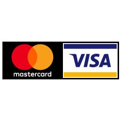 Maksa mugavalt mastercard ja VISA logodega kaartidega