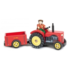 Bertie Traktor koos farmeriga