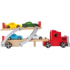 Neli autot + vedaja rekka