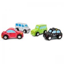 Mini autode komplekt - 4 tk