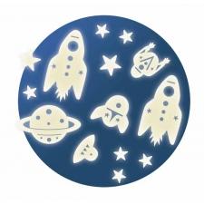 Kosmos - helendavad kleepsud