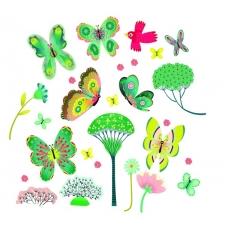 Liblikad aias - aknakleepsud