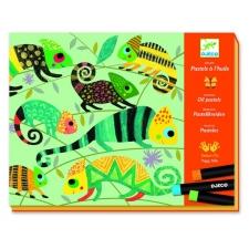 Värviline džungel - õlipastellide pildid