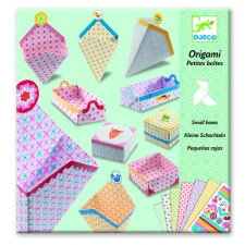 Origami väikesed karbid
