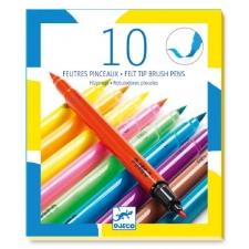 10 viltpintslit - popid värvid