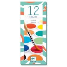 12 erinevat vesivärvi