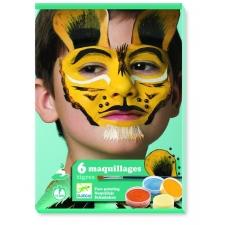 Tiigrid - näovärvide komplekt