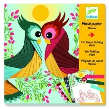 Linnud - plissee paberi voltimine