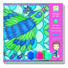 Paabulind - siidi värvimine