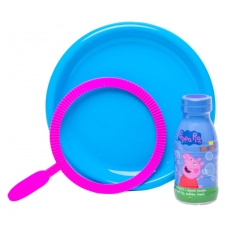 Põrsas PEPPA mullitaja – 250 ml + alus + 1 plastikust ring