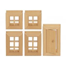 Aknad ja uks 5 osa